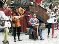 hradní slavnosti / festival in Loket castle