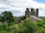 Ruins on Andělská Hora